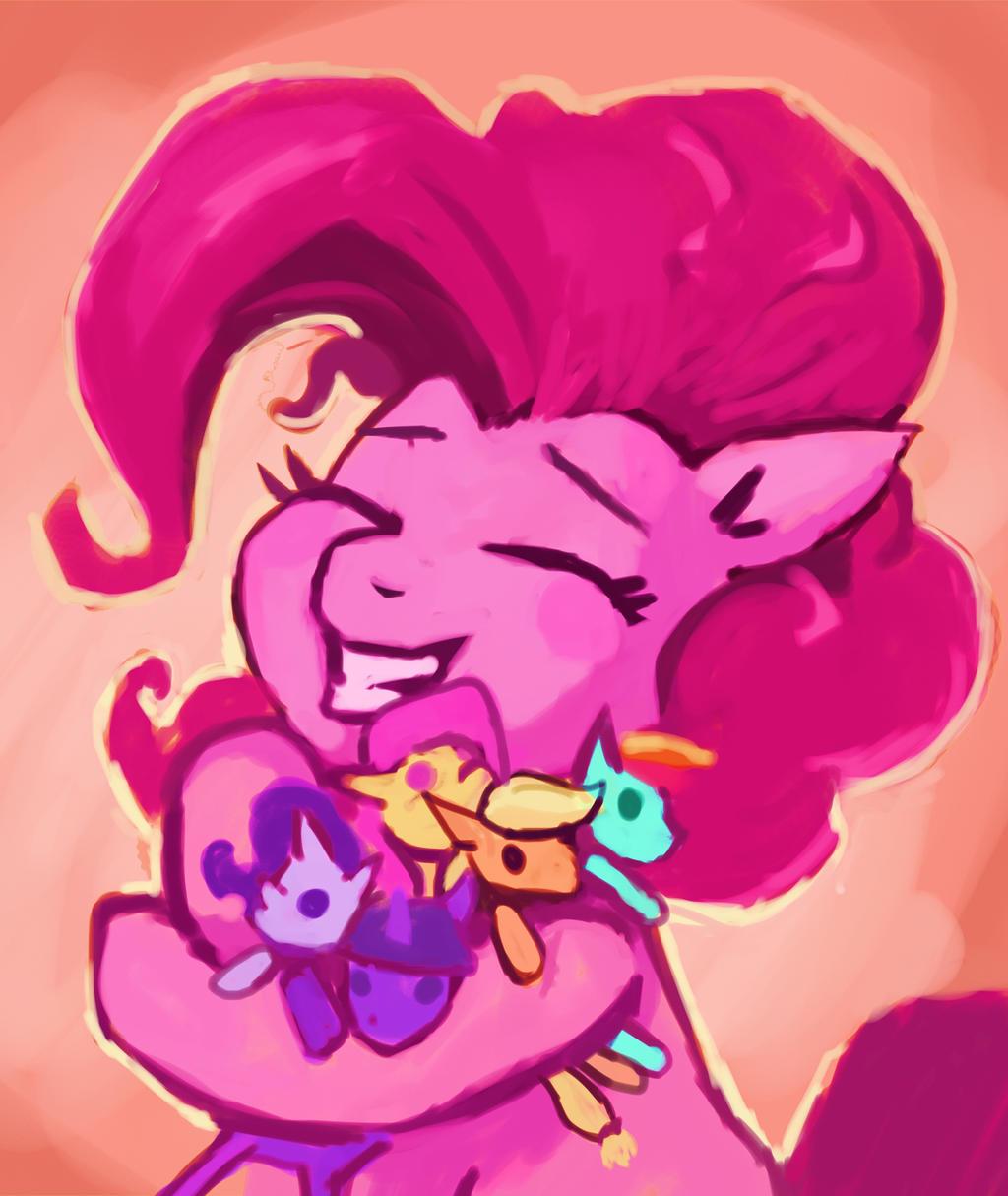 Felt Heart Hug by Dunnstar