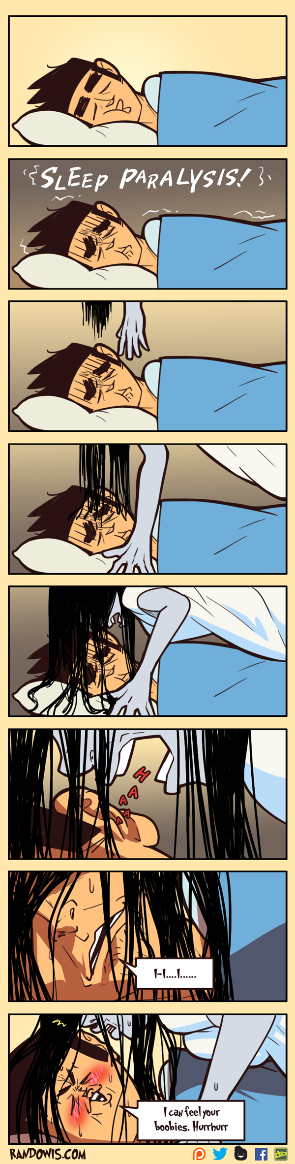 Sleep Paralysis by RandoWis