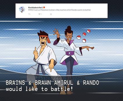 Weekly Doodles - Pokemon Trainer(Rando and Amirul)