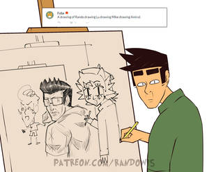 Weekly Doodles - Art-ception
