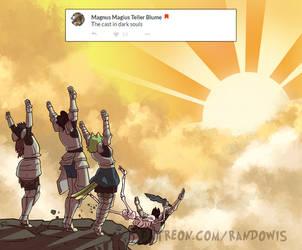 Weekly Doodles - PUHRAIZE DAH SUN! by RandoWis