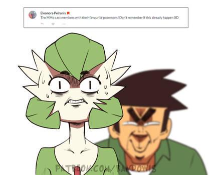 Weekly Doodles - Favourite Pokemon (Rando)