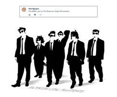 Weekly Doodles - Reservoir Dogs