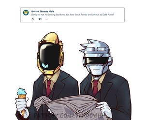 Weekly Doodles - Daft Punk?