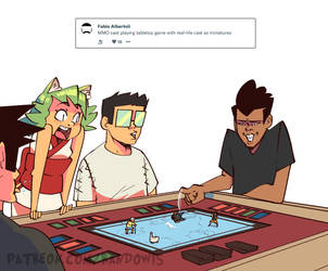 Weekly Doodles - Table-Top Games! by RandoWis