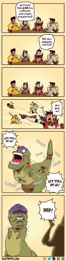 Monster Hunter: Mounting