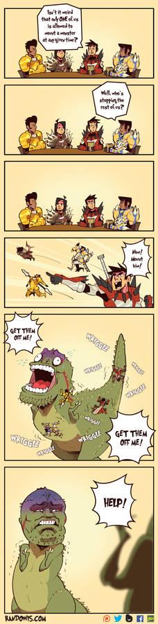 Monster Hunter: Mounting