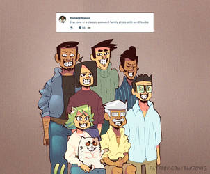 Weekly Doodles - Family Photo by RandoWis