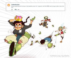 Weekly Doodles - Super Crown
