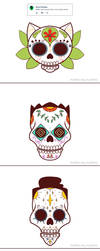 Weekly Doodles - Calavera by RandoWis