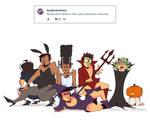 Weekly Doodles - Halloween Costumes