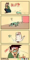 Gecko by RandoWis