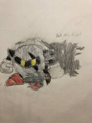 Dark Meta Knight - Failed Copy by Tempest-Requiem