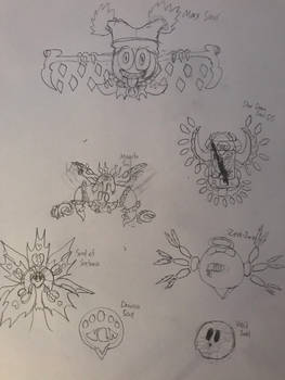 Quick Sketch Series: Showcase of Souls
