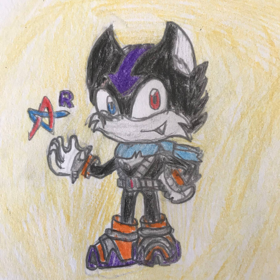 Sonic OC: Atlas Redesigned by Tempest-Requiem
