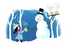Snow Day by Shihochan