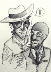 SniperSpy sketch by Cora-Dilcoroc
