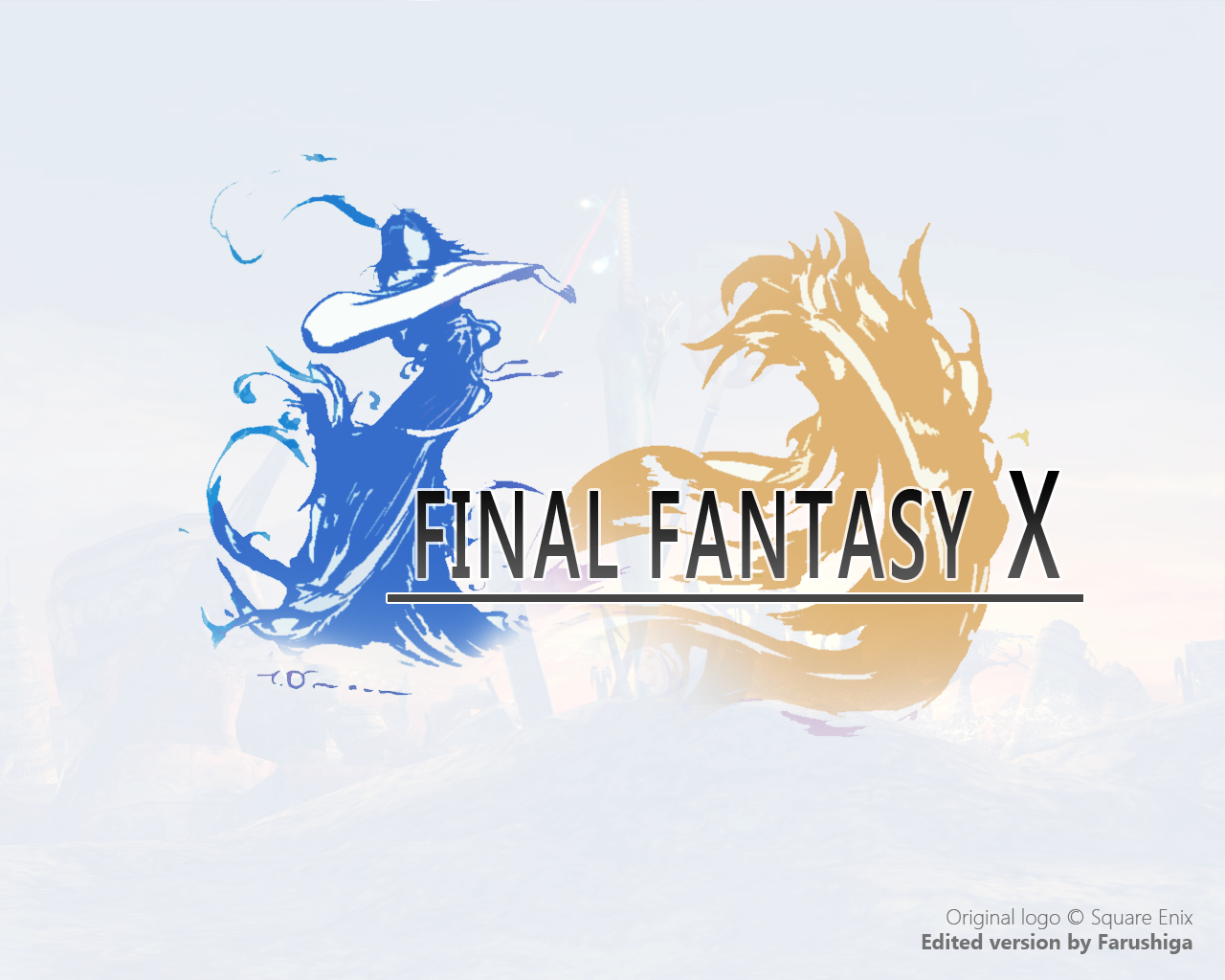 Final Fantasy X - Modern Logo