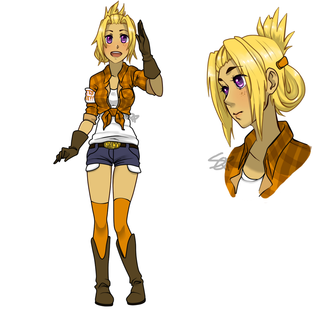 Human chica by squishe pie on deviantart