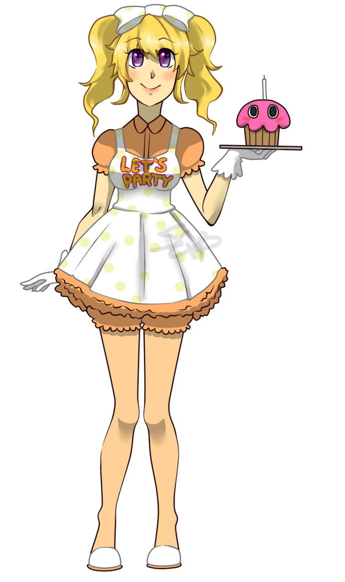 Human toy chica by squishe pie on deviantart