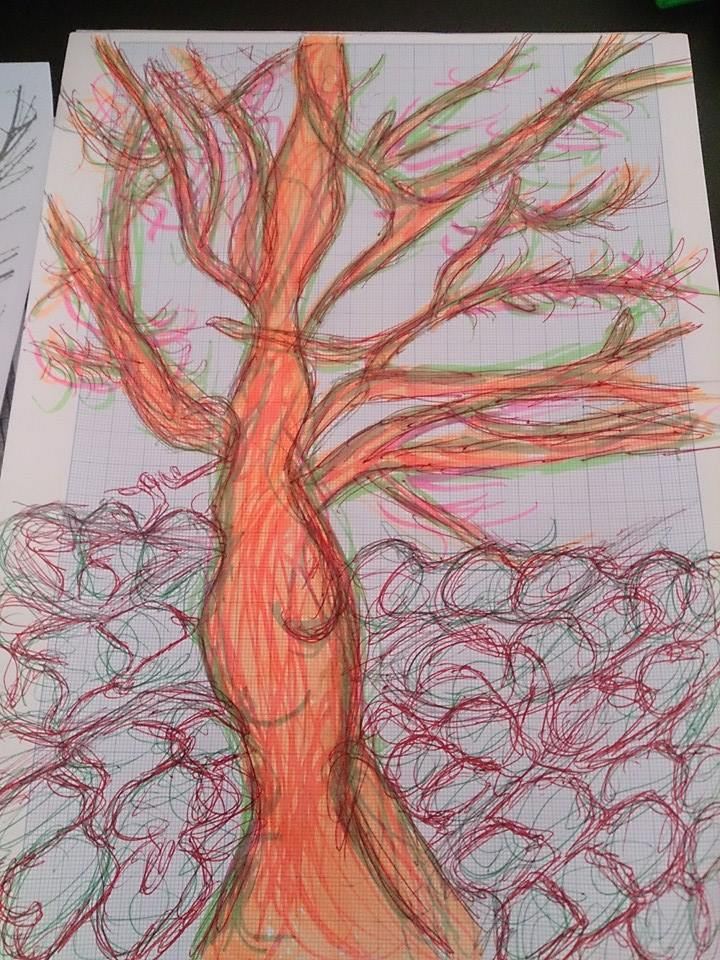 7/4/2015 A tree sketch from a photograph by loobyloukitty