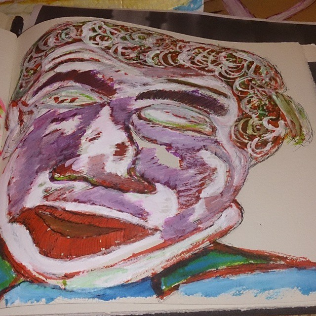 27/7/2015 Nigel Farage by loobyloukitty