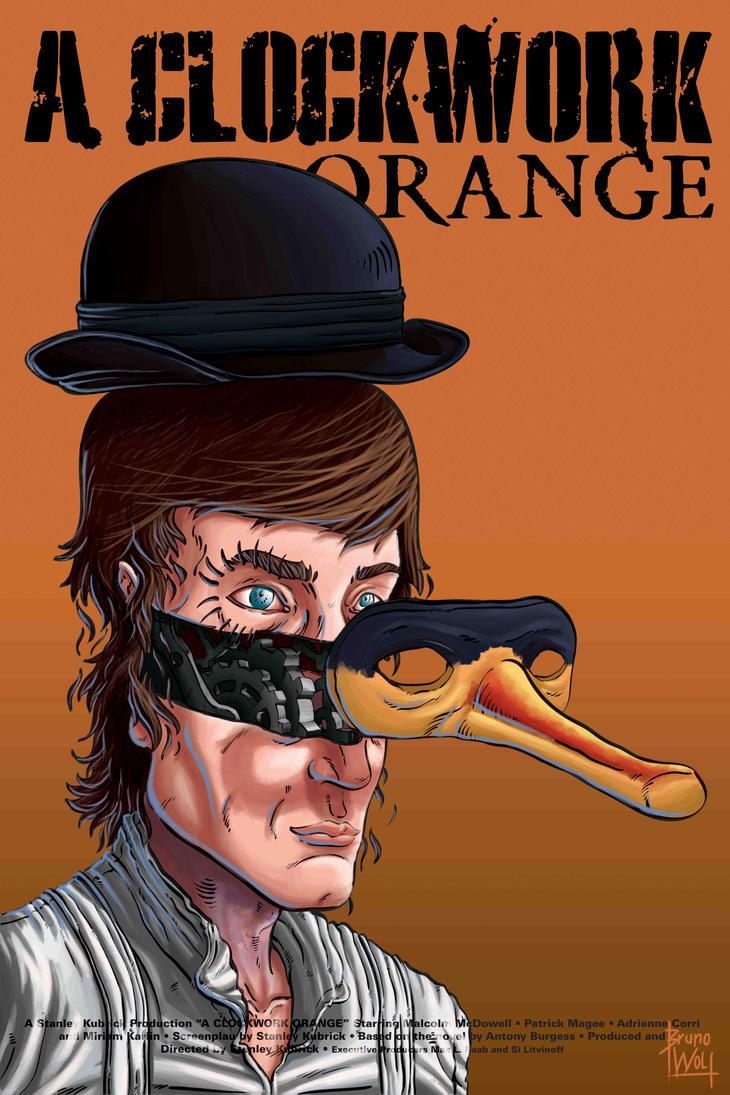 A Clockwork Orange - Poster by brunoces