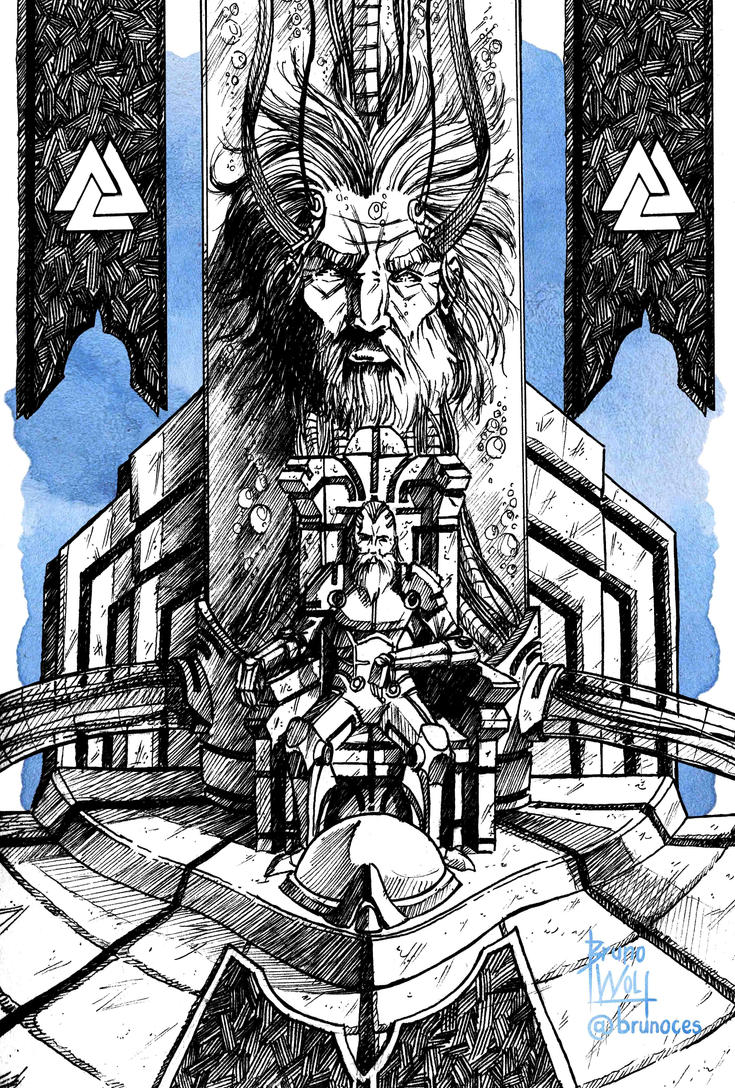 Odin - The all father by brunoces