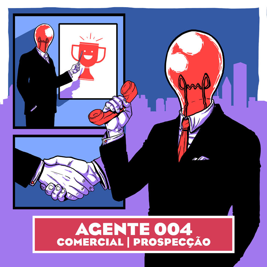 Qu4rto Studio - Agent 004 by brunoces