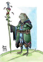 Frog Wizard by brunoces