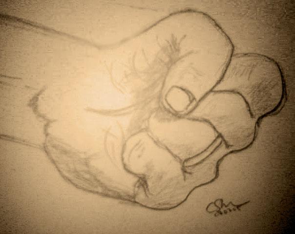 The fist by Krellyan