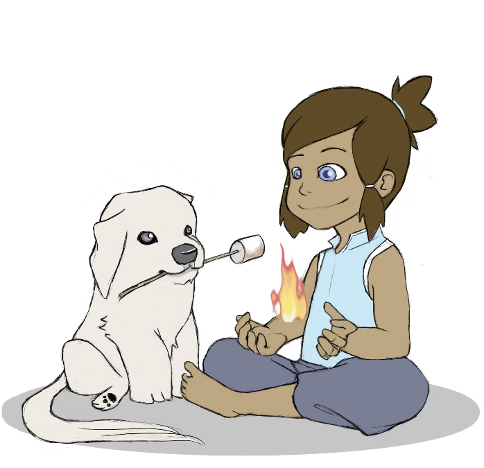 Legend of Korra: Marshmallows by in-the-margins