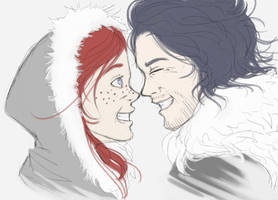 Jon Snow and Ygritte: Eskimo Kiss