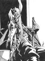 Sir Integra Fairbrook Wingates Hellsing by ShadowDragonsArt
