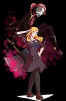 JJBA7thStand User: Naomi Busujima andThe Joykiller by MikotoNui