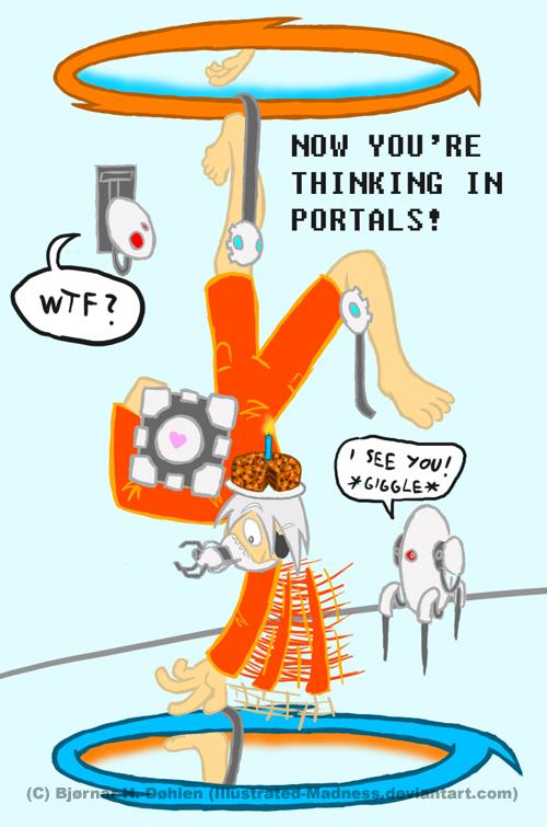 Portal blooper 2 - ID by Illmad