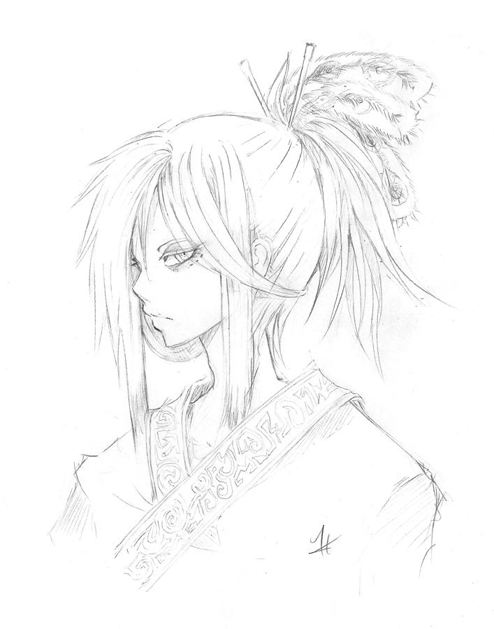 Gijinka - Shen by Eyliant