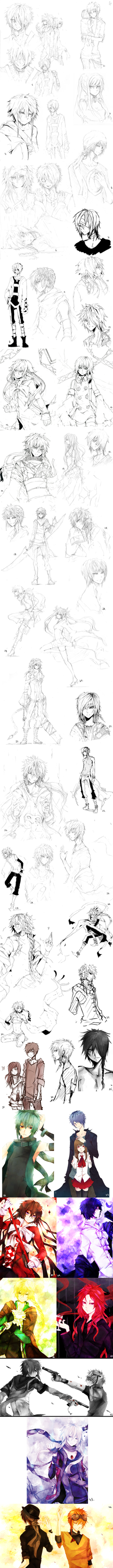 Some drawings 8 by Eyliant