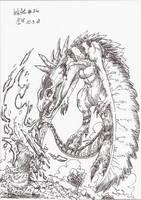 InkArt #34: Monster-Jaeger by blue-hugo