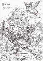 InkArt #37: Kriegskumpanen by blue-hugo