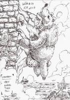 InkArt #39: Raymond der Erklimmer by blue-hugo