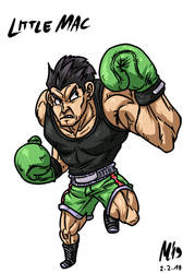 Little Mac| FreeArt #90 by blue-hugo