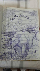 South Africa Artwork by blue-hugo