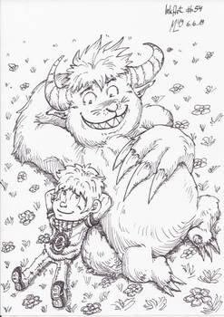 InkArt #54: Monsterfreunde! #2