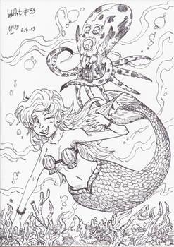 InkArt #55: Marielle und Okto-Okto