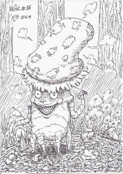 InkArt #56: Der Pilzmann