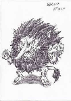 InkArt #59: Troll