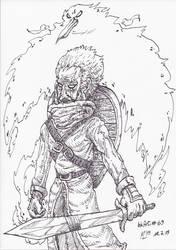 InkArt #69: Ritter des Phoenixfeuers