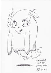 #INKTOBER19 Day 22: Ghost