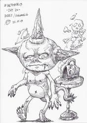 #INKTOBER19 Day 24: Dizzy